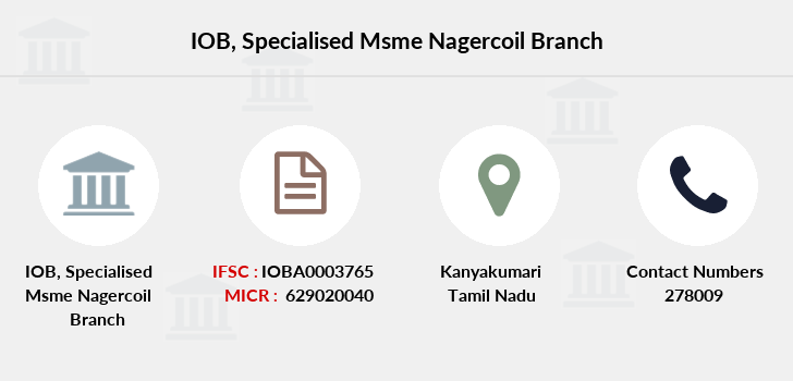 Indian-overseas-bank Specialised-msme-nagercoil branch