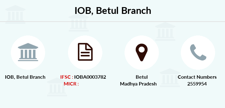Indian-overseas-bank Betul branch