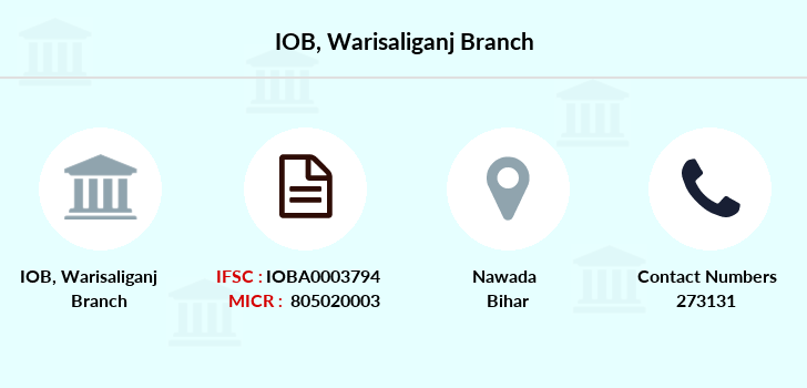 Indian-overseas-bank Warisaliganj branch