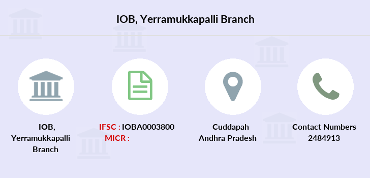 Indian-overseas-bank Yerramukkapalli branch