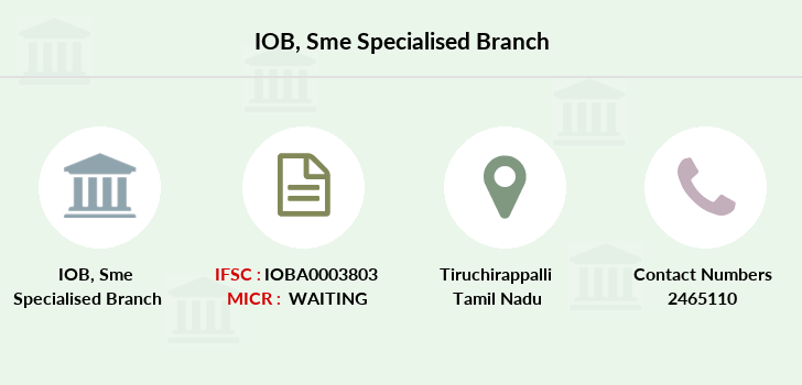 Indian-overseas-bank Sme-specialised branch