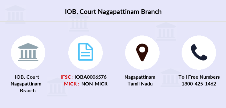 Indian-overseas-bank Court-nagapattinam branch