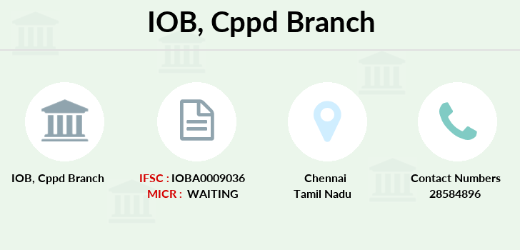 Indian-overseas-bank Cppd branch