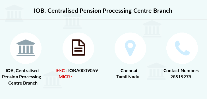 Indian-overseas-bank Centralised-pension-processing-centre branch