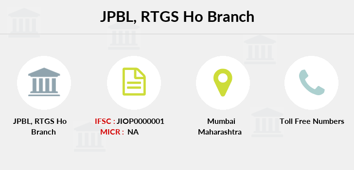 Jio-payments-bank-limited Rtgs-ho branch
