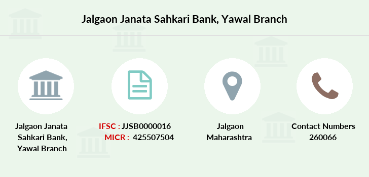 Jalgaon-janata-sahkari-bank Yawal branch