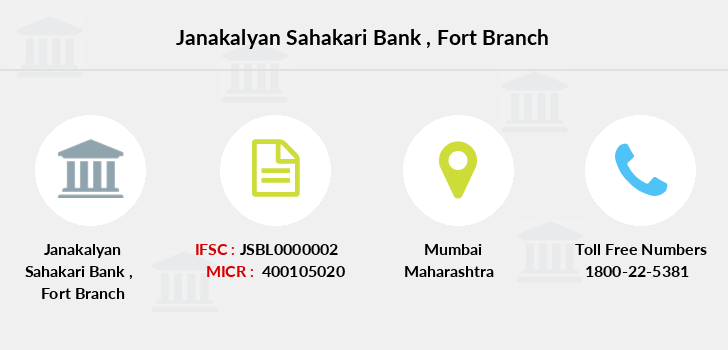 Janakalyan-sahakari-bank Fort branch