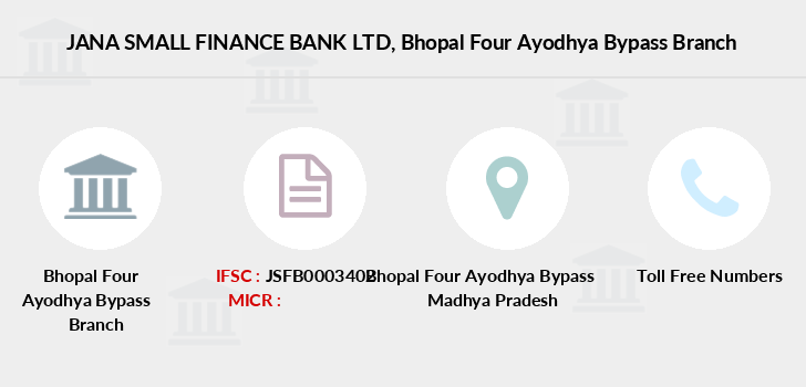 Jana-small-finance-bank-ltd Bhopal-four-ayodhya-bypass branch