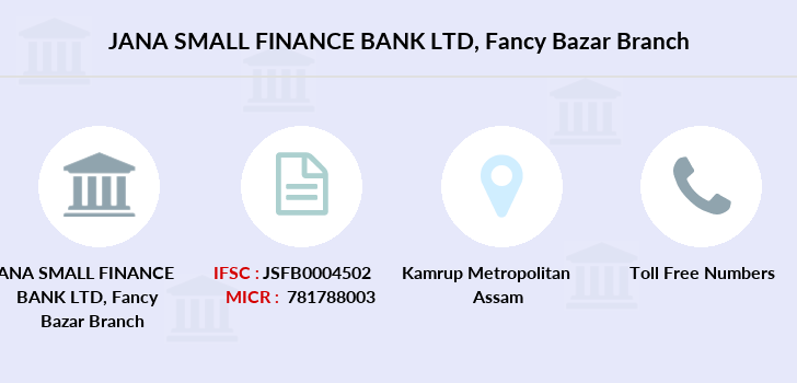 Jana-small-finance-bank-ltd Fancy-bazar branch