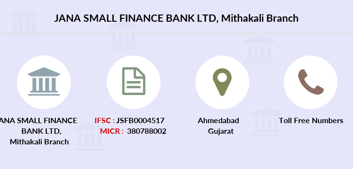 Jana-small-finance-bank-ltd Mithakali branch