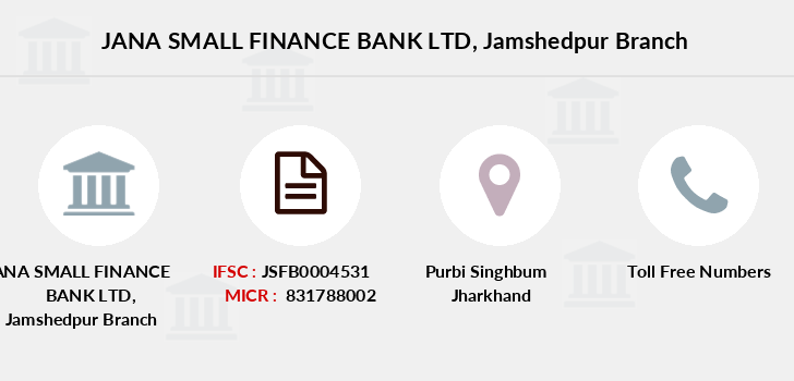 Jana-small-finance-bank-ltd Jamshedpur branch