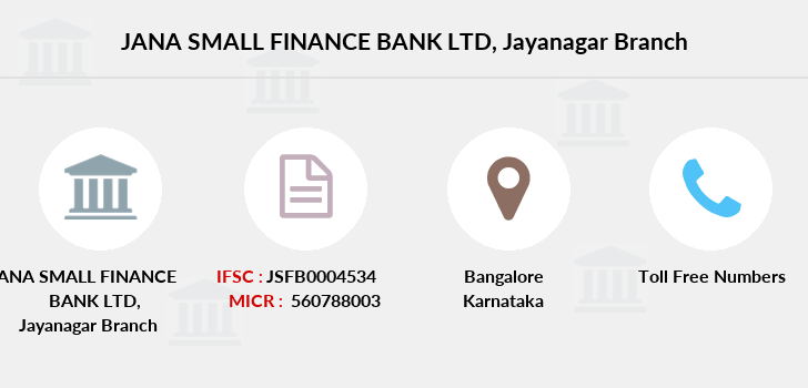 Jana-small-finance-bank-ltd Jayanagar branch
