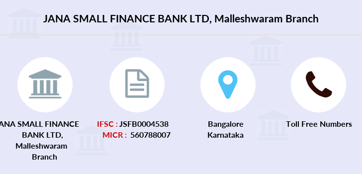 Jana-small-finance-bank-ltd Malleshwaram branch