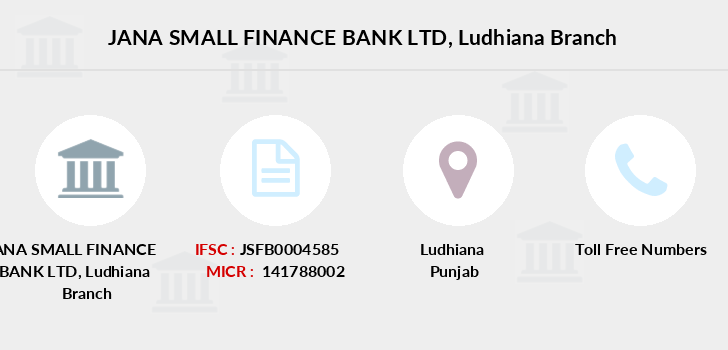 Jana-small-finance-bank-ltd Ludhiana branch