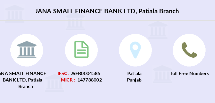 Jana-small-finance-bank-ltd Patiala branch