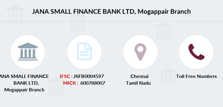 Jana-small-finance-bank-ltd Mogappair branch