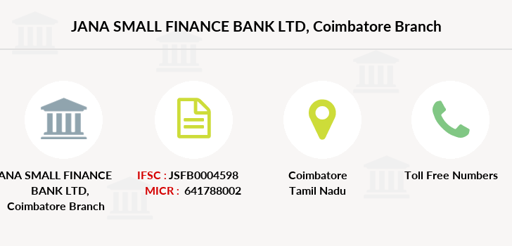 Jana-small-finance-bank-ltd Coimbatore branch