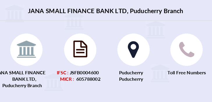 Jana-small-finance-bank-ltd Puducherry branch