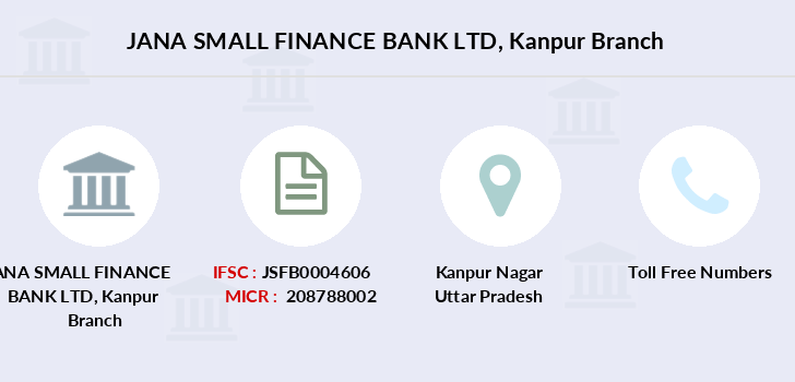 Jana-small-finance-bank-ltd Kanpur branch