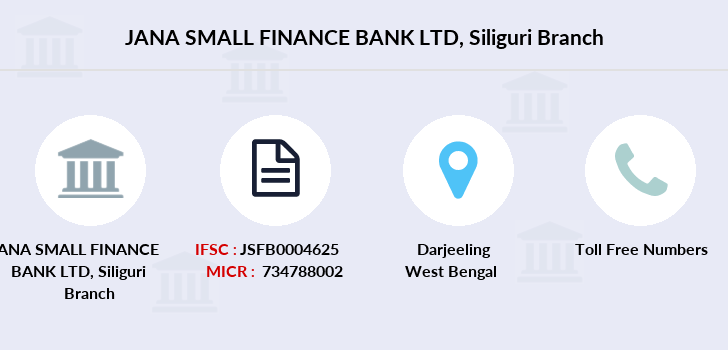 Jana-small-finance-bank-ltd Siliguri branch