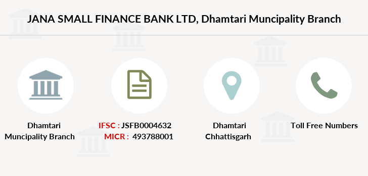 Jana-small-finance-bank-ltd Dhamtari-muncipality branch