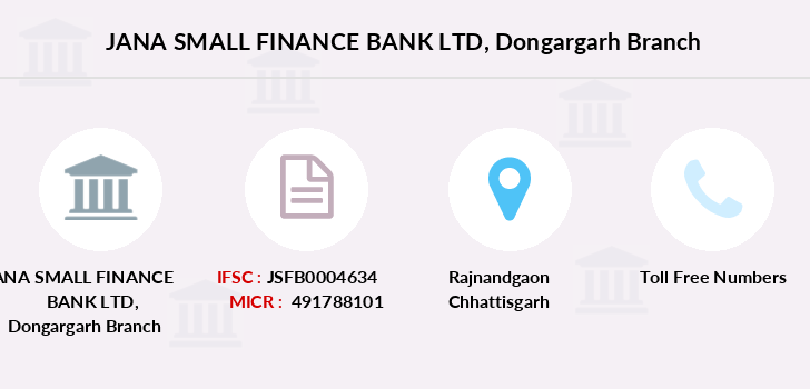 Jana-small-finance-bank-ltd Dongargarh branch