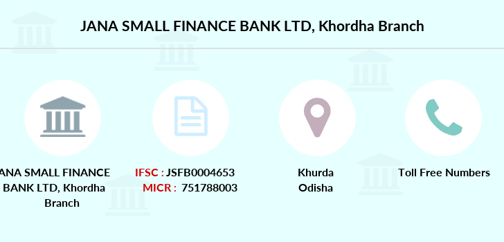 Jana-small-finance-bank-ltd Khordha branch