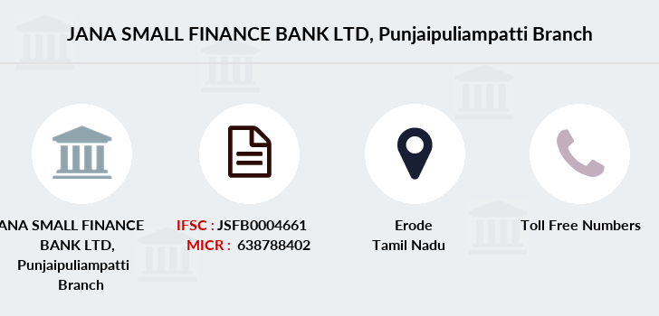 Jana-small-finance-bank-ltd Punjaipuliampatti branch