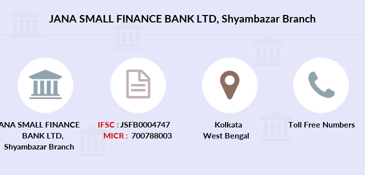 Jana-small-finance-bank-ltd Shyambazar branch