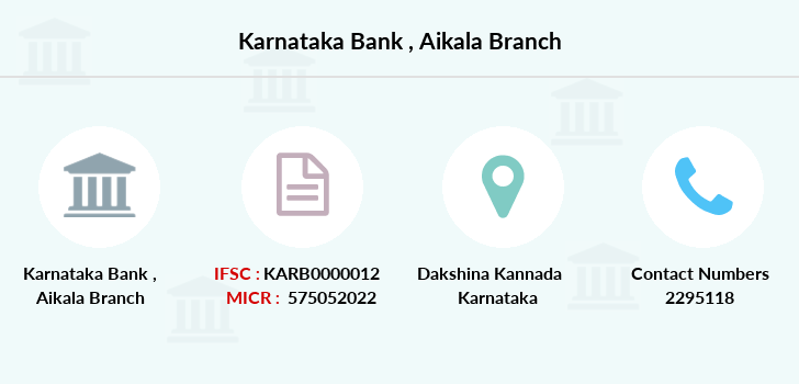Karnataka-bank Aikala branch