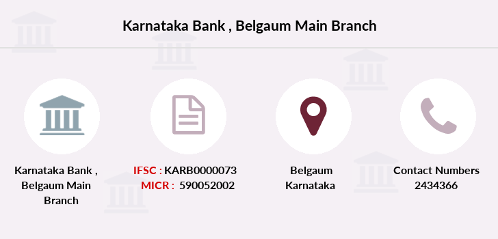 Karnataka-bank Belgaum-main branch
