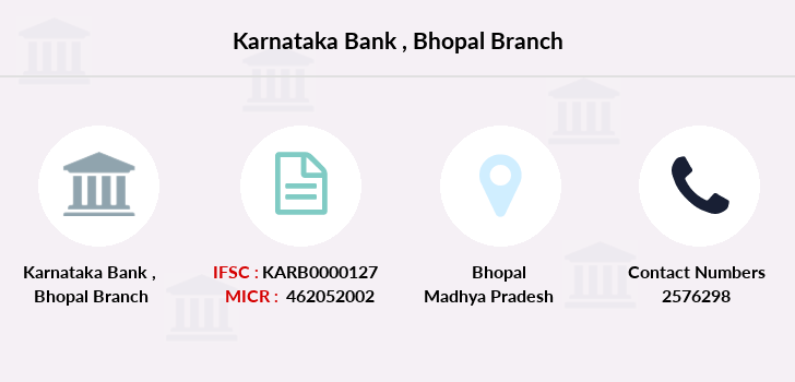 Karnataka-bank Bhopal branch