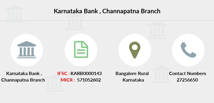 Karnataka-bank Channapatna branch
