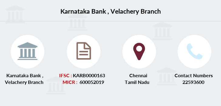 Karnataka-bank Velachery branch