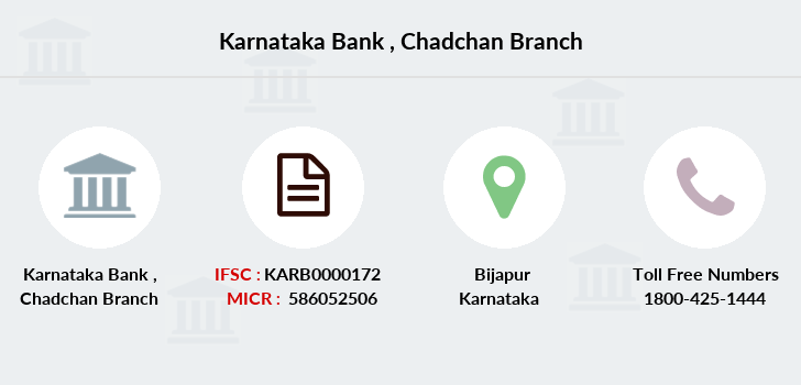 Karnataka-bank Chadchan branch