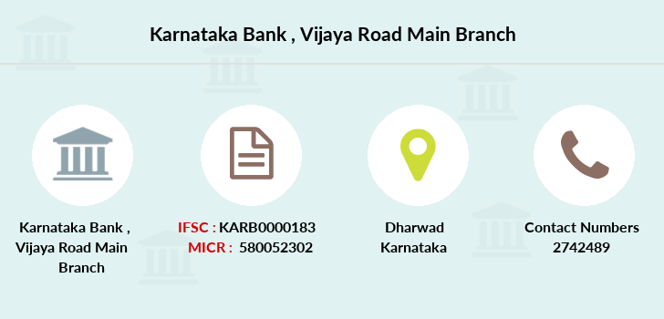 Karnataka-bank Vijaya-road-main branch