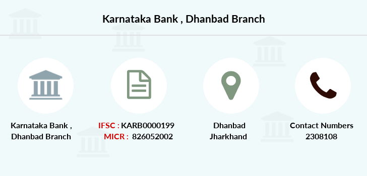 Karnataka-bank Dhanbad branch