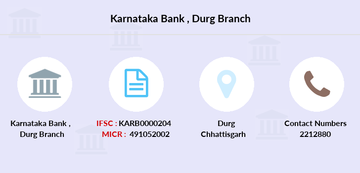 Karnataka-bank Durg branch