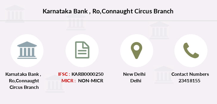 Karnataka-bank Ro-connaught-circus branch