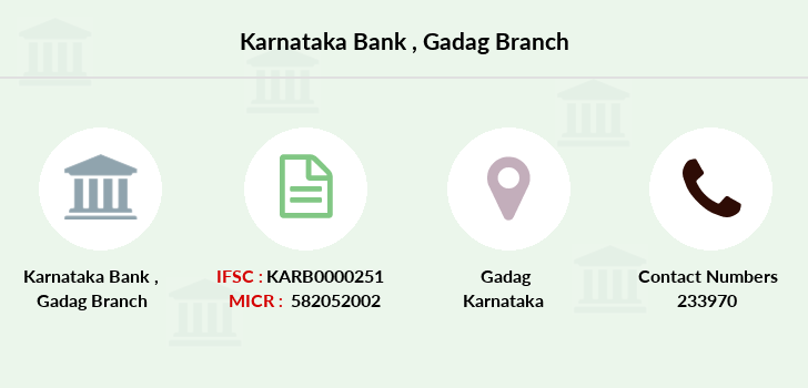 Karnataka-bank Gadag branch