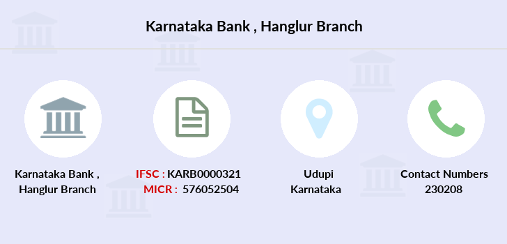 Karnataka-bank Hanglur branch