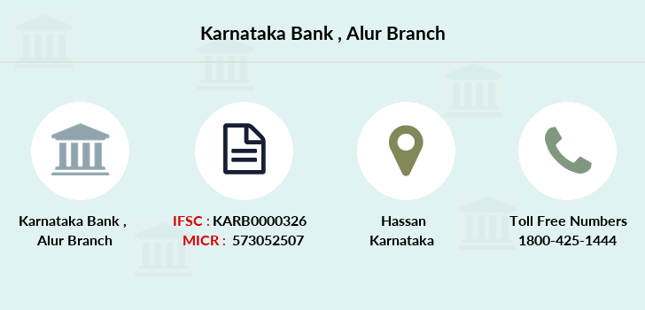 Karnataka-bank Alur branch