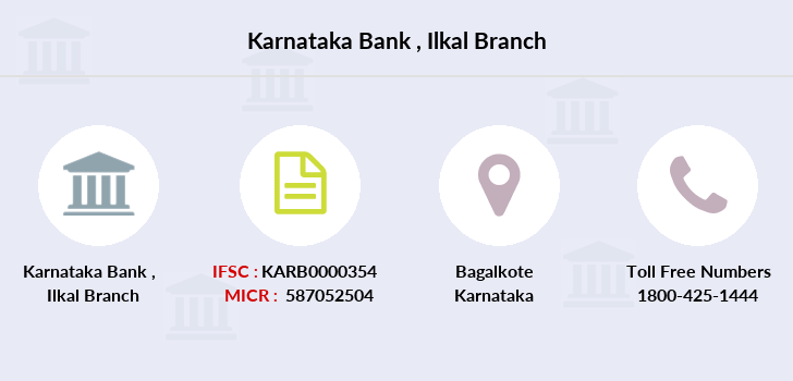 Karnataka-bank Ilkal branch
