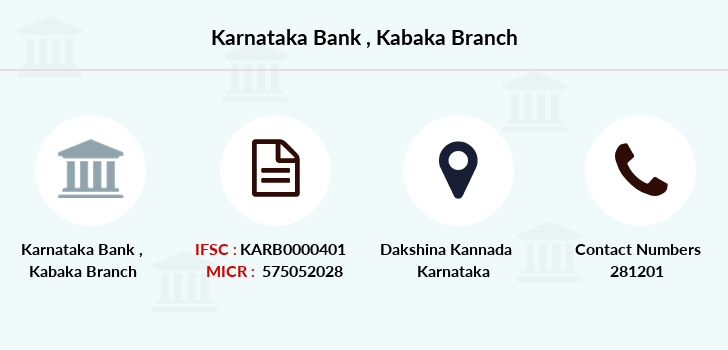 Karnataka-bank Kabaka branch