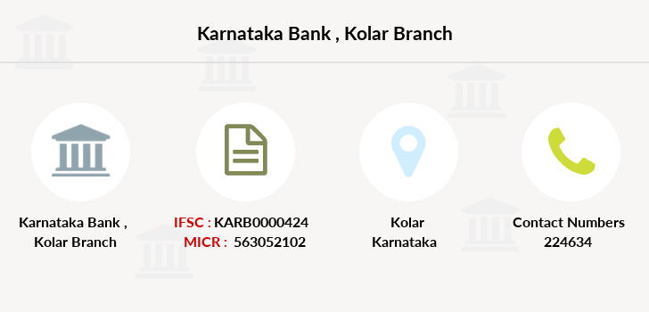 Karnataka-bank Kolar branch