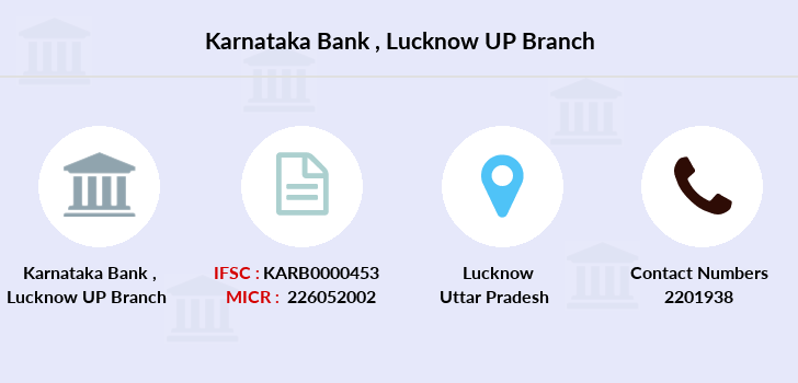 Karnataka-bank Lucknow-up branch