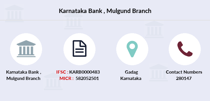 Karnataka-bank Mulgund branch