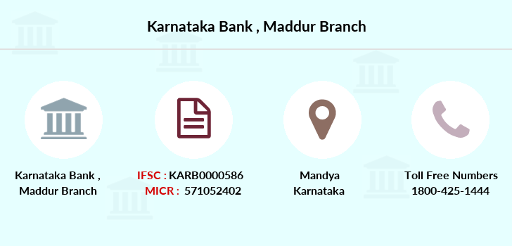 Karnataka-bank Maddur branch