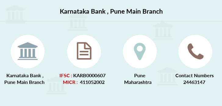 Karnataka-bank Pune-main branch