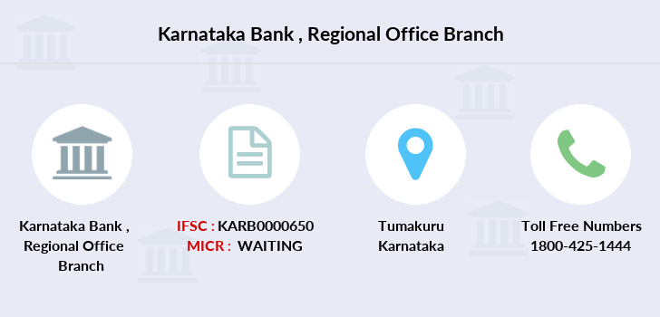 Karnataka-bank Regional-office branch